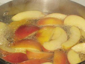 рецепт с фото компот из яблок