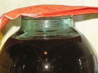 поставить закваску в тепло и накрыть салфеткой