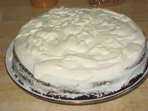 сформировать торт