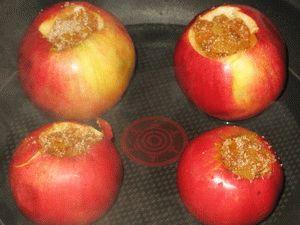 яблоки перед запеканием