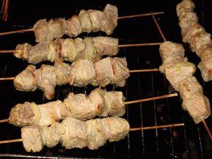 Шашлык в духовке рецепт с фото на решетке