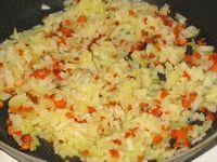 обжарка моркови с луком