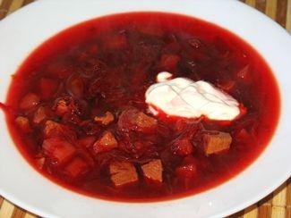 Рецепт борща салатов