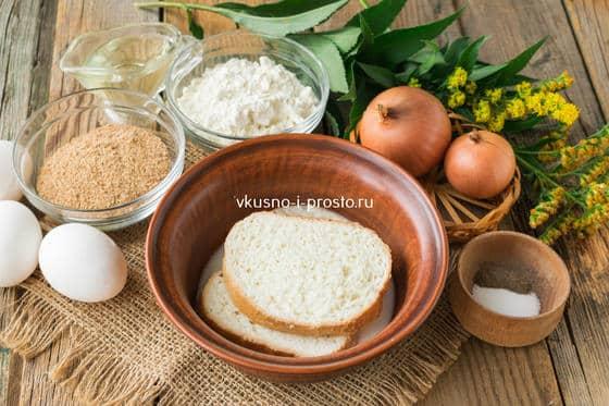 Замачиваем хлеб в молоке