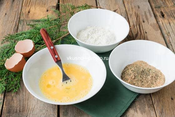 ингредиенты для панировки шницеля