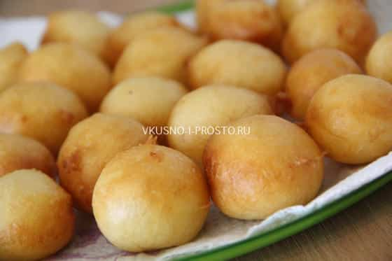 рецепт творожных вкусных шариков