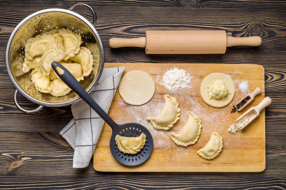 тесто для домашних вареников