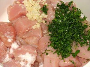 ингредиенты маринада для шашлыка из курицы с чесноком