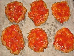 котлеты из телятины под кетчупом
