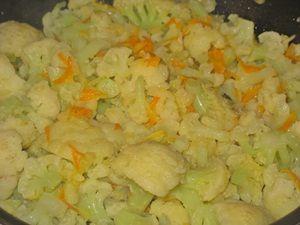 тушить цветную капусту до готовности