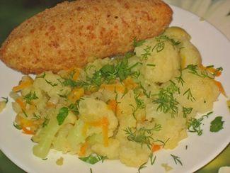 Цветная капуста блюда диетические рецепты с фото