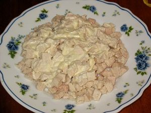 куриная грудка с майонезом для салата с шампиньонами
