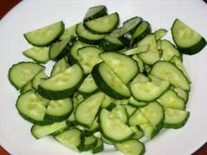 огурцы для салата