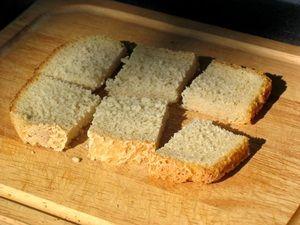 хлеб для шашлыка из сала