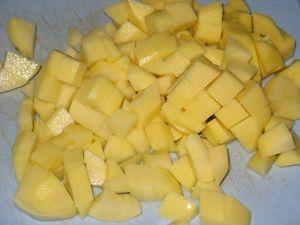 картошка для летнего борща
