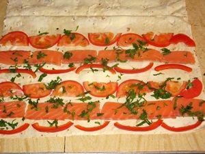 рклет из лаваша с красной рыбой рецепт