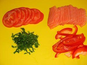 начинка для рулетов с красной рыбой