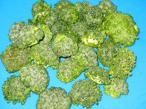 соцветия капусты брокколи