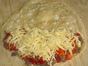 сыр на соусе