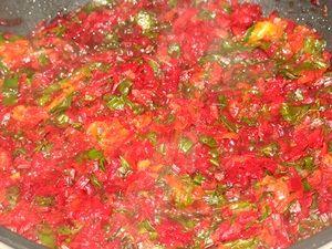 тушёные овощи для летнего борща