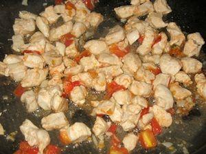 начинка кесадии с курицей