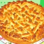 Пирог с повидлом