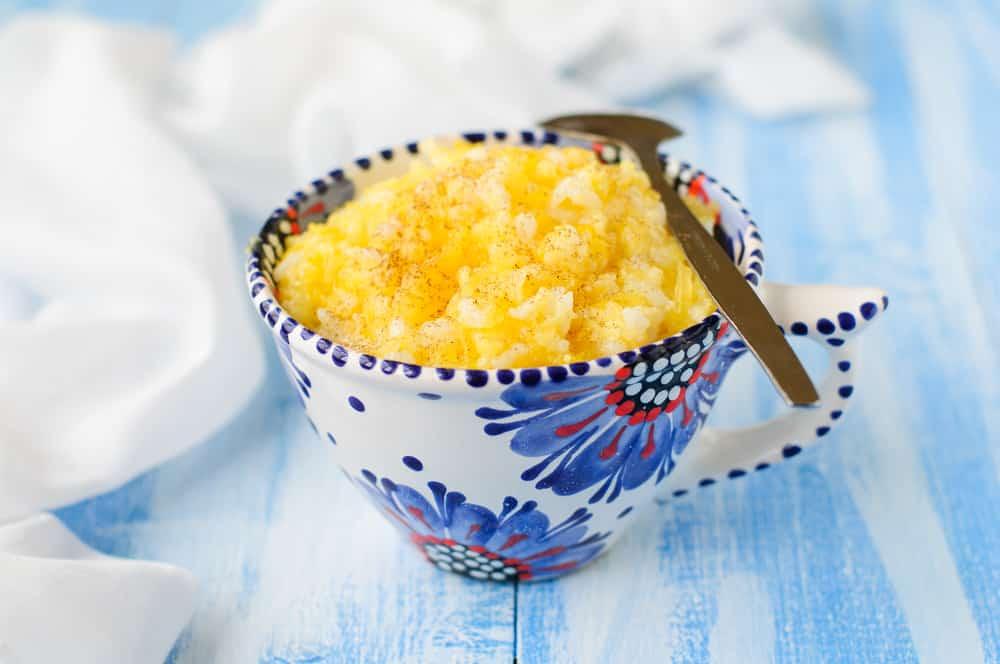 каша из риса и тыквы