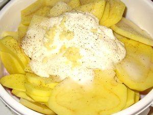 ингредиенты соуса для окорочков с картошкой