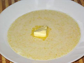 Сварить вкусную кукурузную кашу на молоке