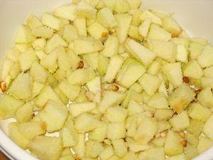 начинка для штруделя с яблоками