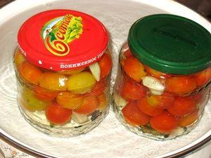 пастеризация маринованных помидоров