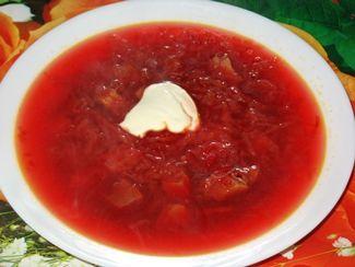 Борщ рецепт с квашеной капустой пошаговый рецепт