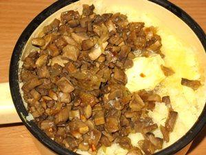 ингредиенты начинки для пирожков с грибами