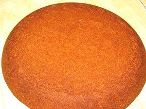 корж медового бисквита