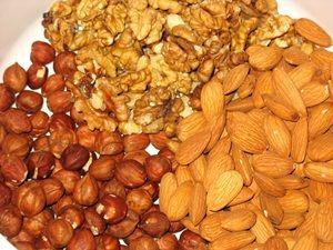 орехи для щербета
