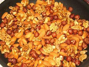 сушка орехов