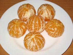 чищеные мандарины для компота