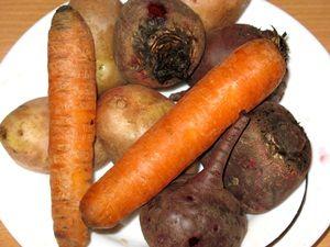 овощи для салата сёмга под шубой