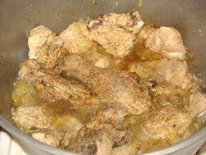 курица со специями для плова