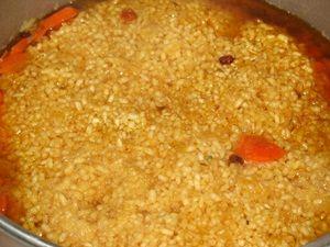 рис в плове с говядиной