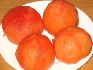 Чищеные помидоры