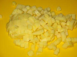 картошка для борща