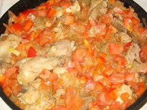 овощи в чахохбили