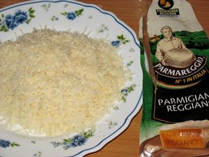 Тёртый Пармезан