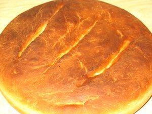 буханка хлеба на молоке