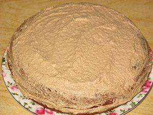 формирование торта Прага