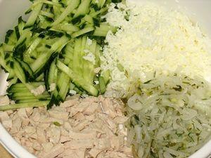 ингредиенты начинки салата гнездо глухаря