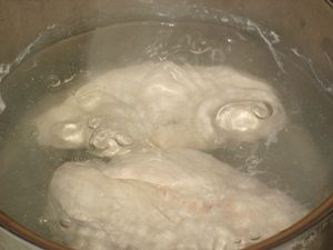 Варка куриных грудок