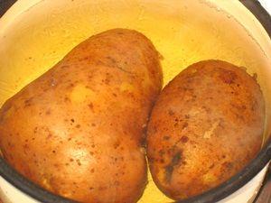 варка картошки в мундире