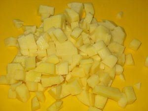 картошка для супа с щавелем